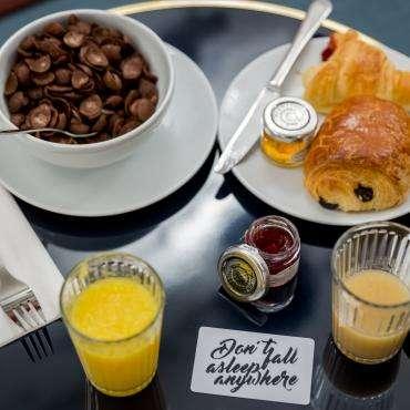 Hôtel Bridget - Petit déjeuner
